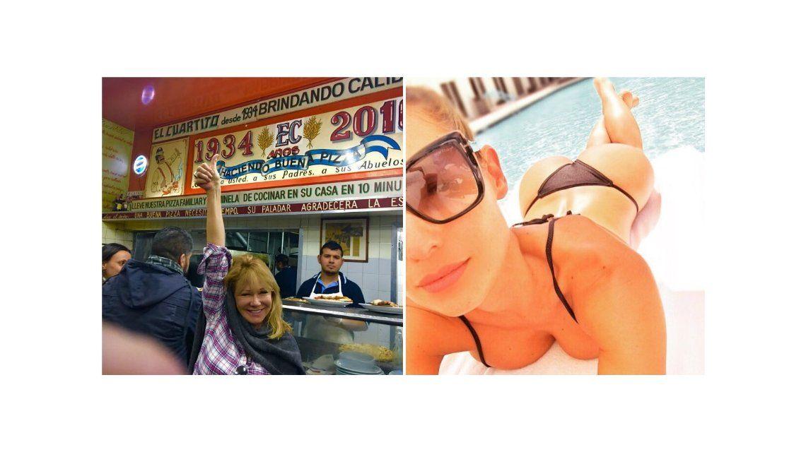 Solita ironizó con el nuevo viaje de Pampita: Ella en Miami y yo en el Cuartito de Buenos Aires