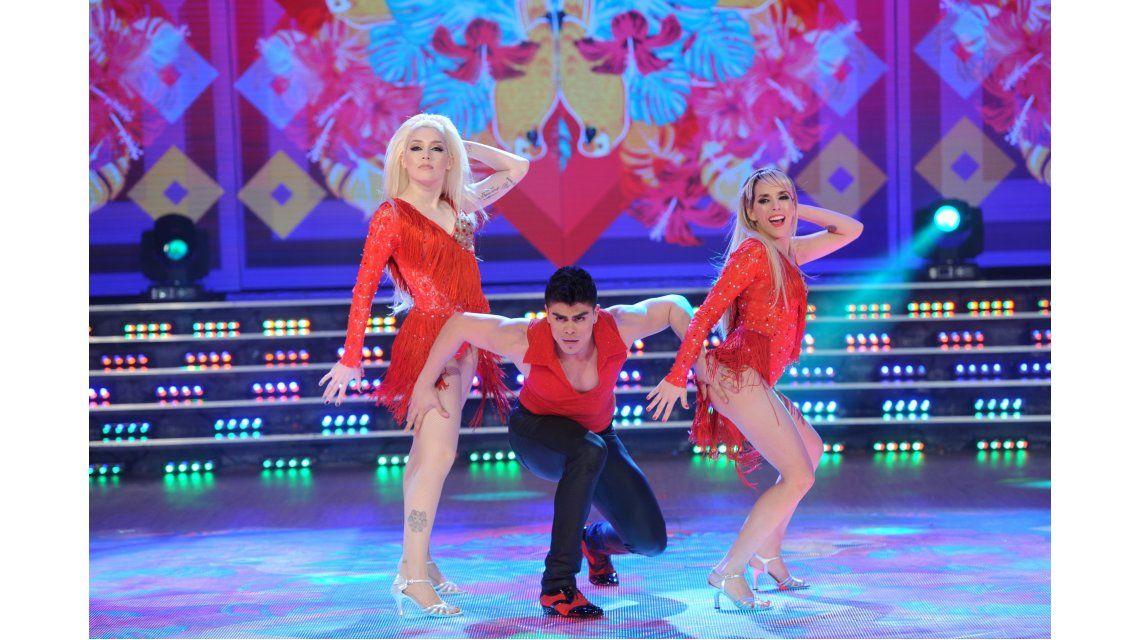 Tamara Pettinato bailó salsa de a tres con Militta Bora y la mandó al frente: Está conociendo a Chano