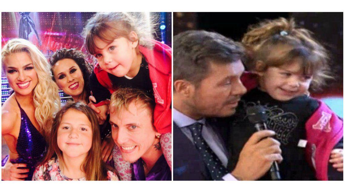 Las hijas del Polaco aparecieron en vivo por primera vez: la ternura de la más pequeña al saludar a su ídolo Tinelli