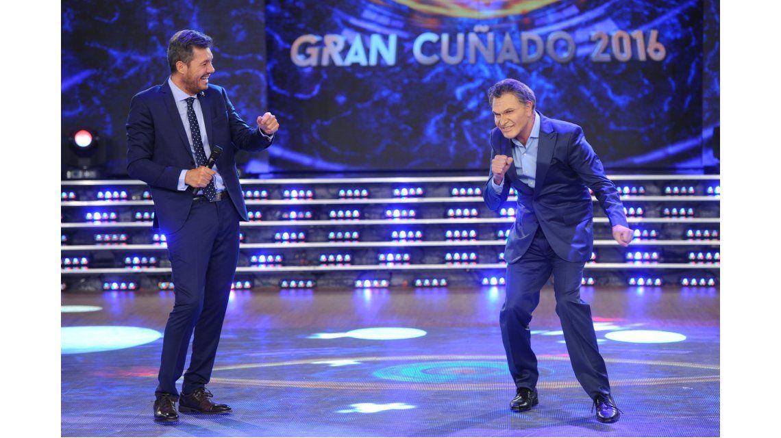Macri volvió a Gran Cuñado luego de la reunión con Tinelli en Olivos