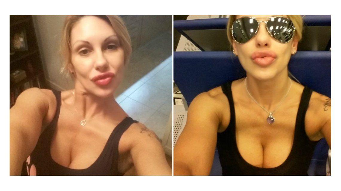 Después de criticar el rendimiento en la cama de Riquelme, Mónica Farro se agrandó las lolas