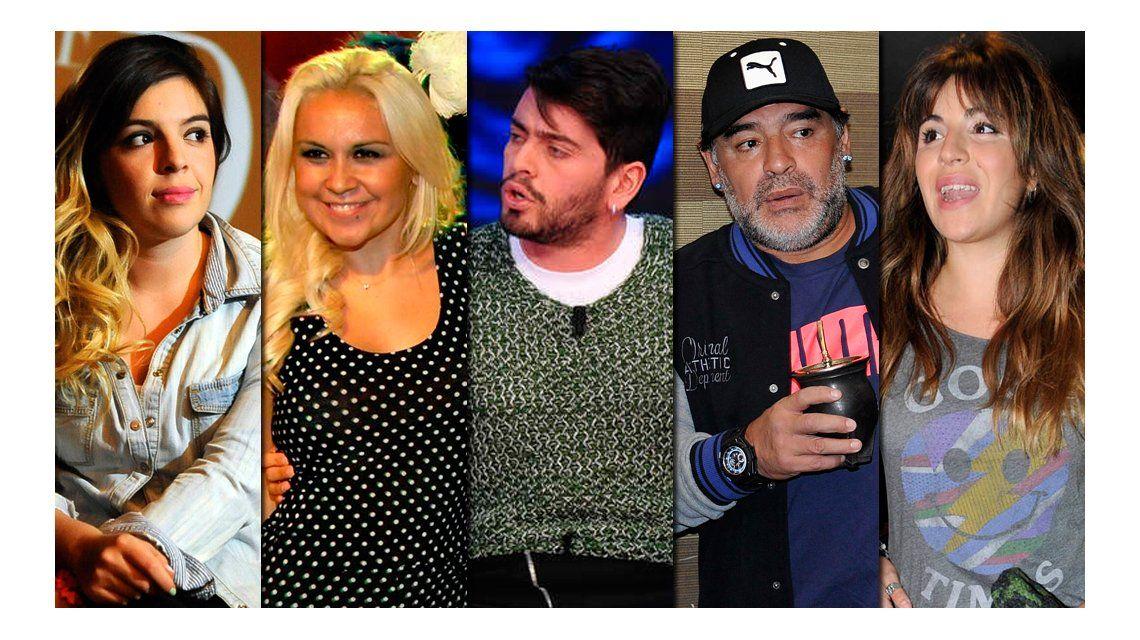 Dalma Maradona, contra todos: A Gianinna no le divierte que Ojeda la nombre tanto; y El ADN de mi papá está en la Justica, es ir y hacérselo