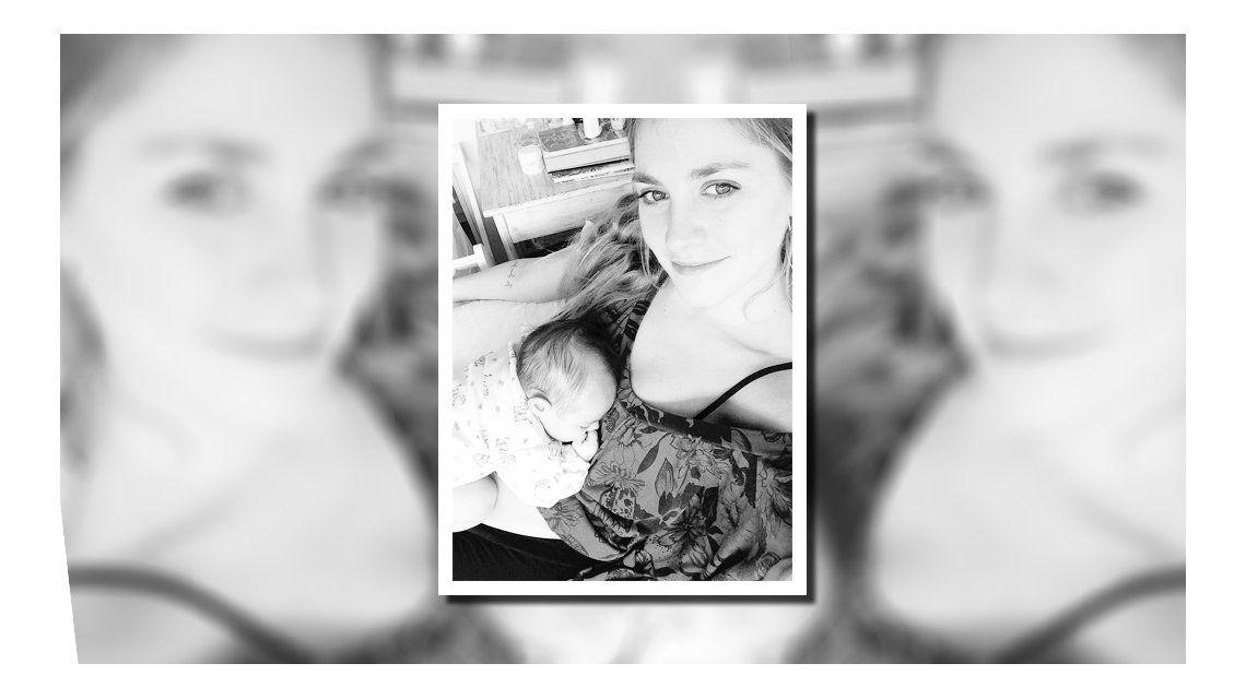 Con una tierna foto, Rochi Igarzabal presentó a su hija Lupe