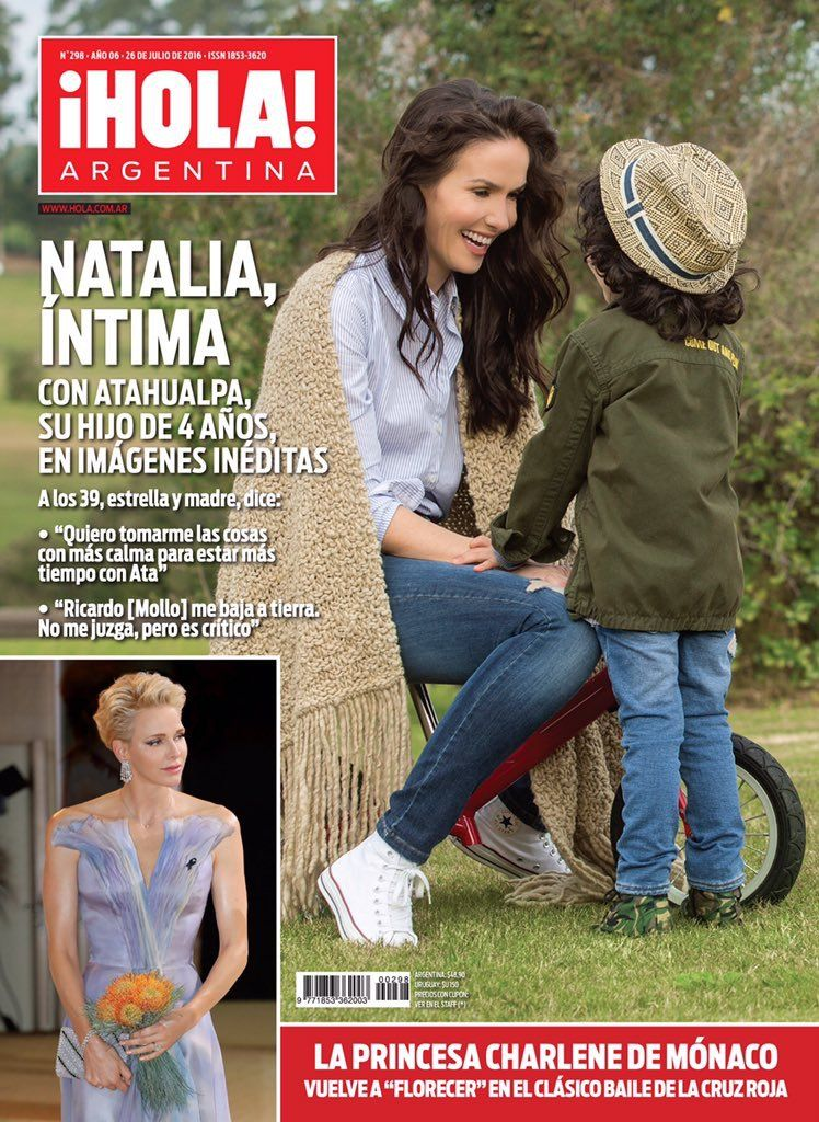 Tapas de revistas: la gran vuelta de Karina Jelinek