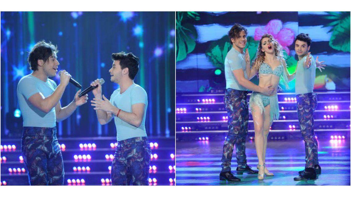 Agustín Casanova y Fernando Dente se lucieron cantando juntos pero fracasaron en el baile: ¡puntaje bajìsimo!