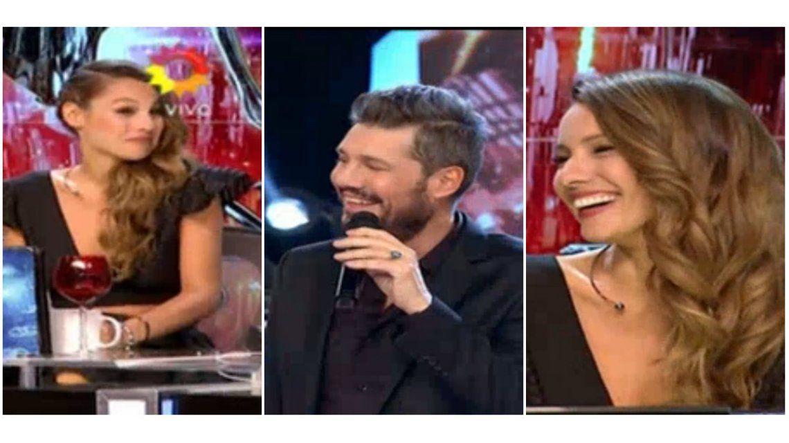 Las risas y gestos de Pampita cuando la cargaron por las fotos con Nacho Viale