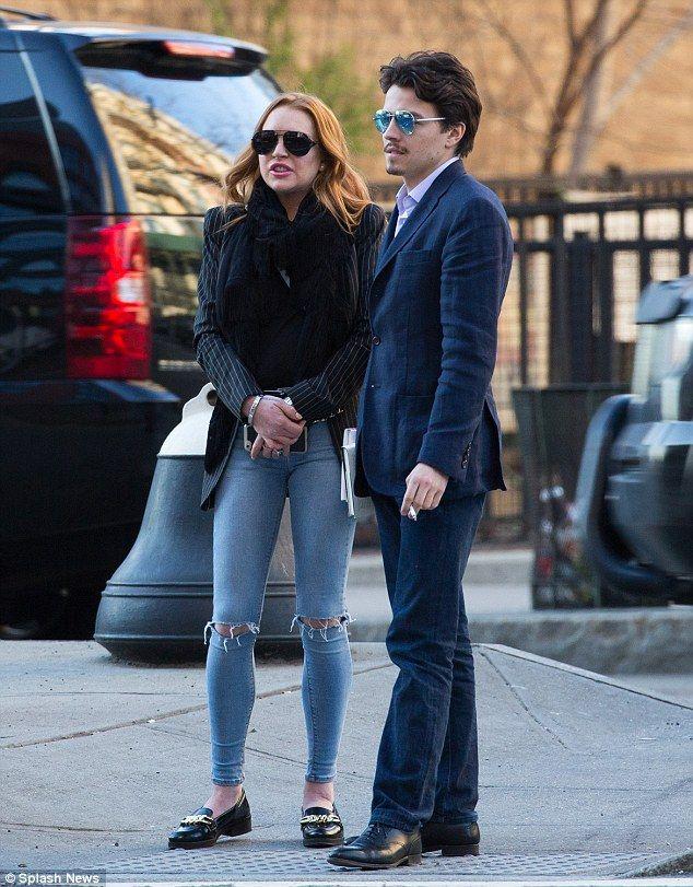 Qué dijo Lindsay Lohan por el violento video acusando a su pareja de haberla estrangulado