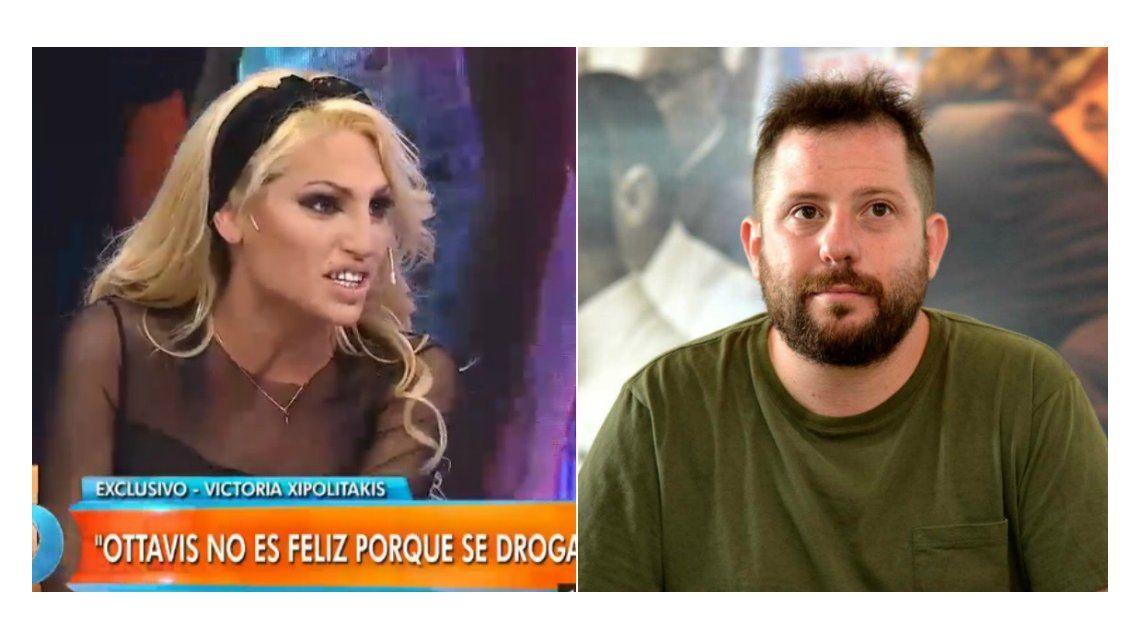¿Nos frotamos hoy?: el mensaje por el que Vicky Xipolitakis le rompió dos celulares a Ottavis