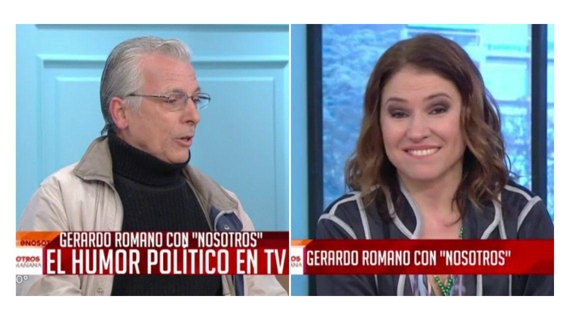 Fernanda Iglesias vs Gerardo Romano: ella le dijo abuelo y él respondió que eso es es propio de una golpeadora