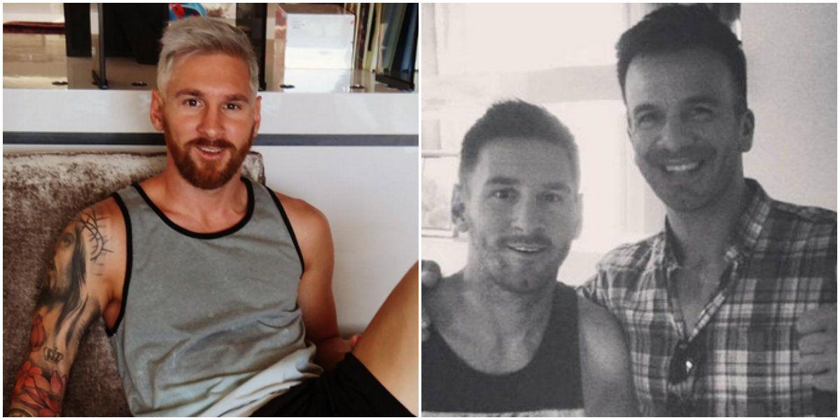 Ariel Bermúdez, el peluquero de Messi contó cómo estaba de ánimo el crack ¿y le cobró o no?