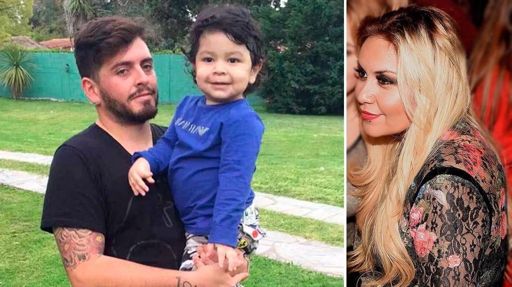 Diego Jr. le respondió a Verónica Ojeda: Yo no filtré la foto con Dieguito Fernando