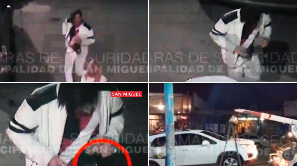 Video: detuvieron al gigoló Javier Bazterrica por manejar borracho