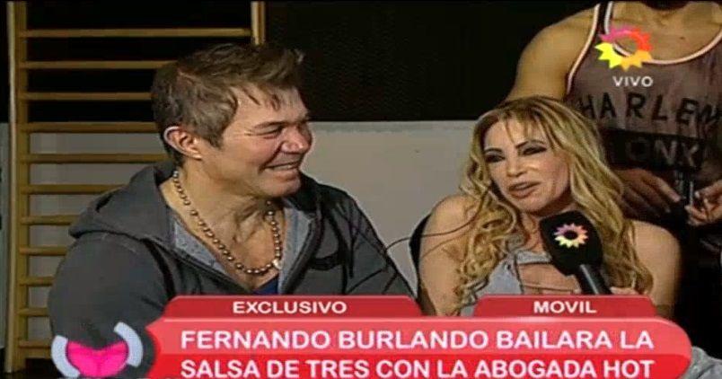 De Tribunales al Bailando: Fernando Burlando será el compañero de la abogada hot en la salsa en trío