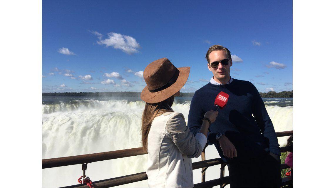 Alexander Skarsgard: Tarzán es más romántico, aventurero y más rudo que yo