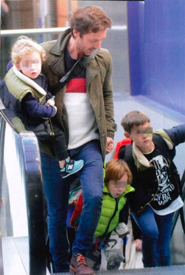 Las vacaciones de Benjamín Vicuña y sus hijos Bautista, Beltrán y Benicio en Chile
