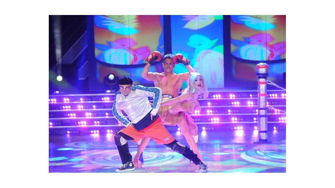 Carlos Belloso y Osvaldo Laport homenajearon a Campeones en la salsa de tres y Solita terminó llorando