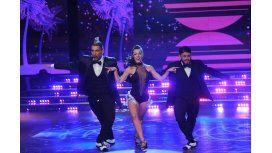Le puso onda, pero...: así bailó el Tirri la salsa de tres con Diego Maradona Junior