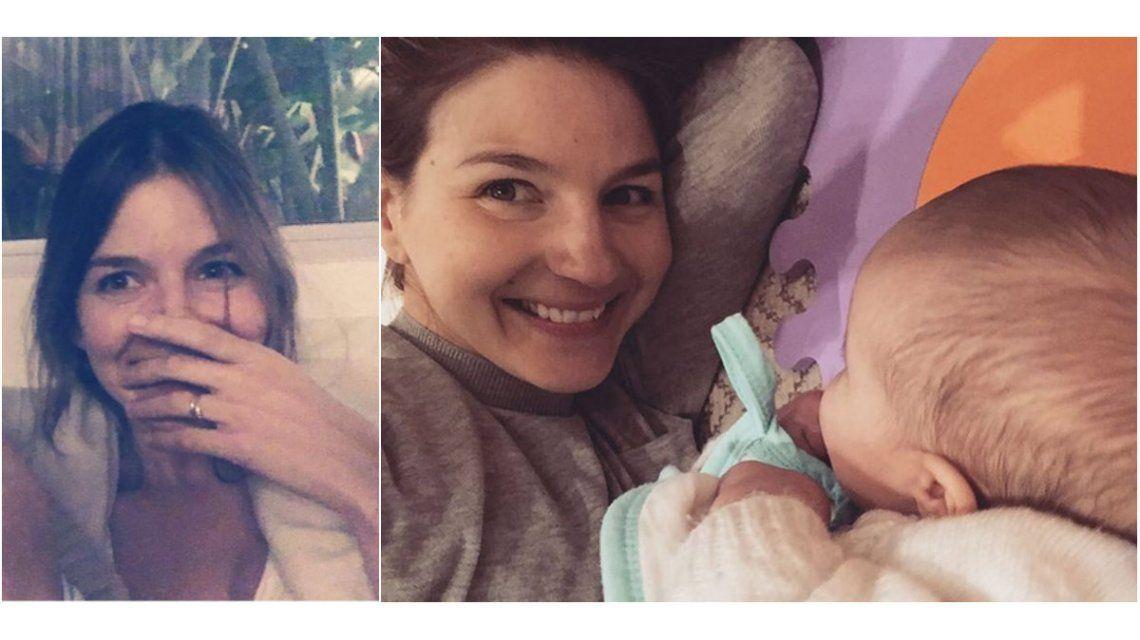 Marcela Kloosterboer abrió Instagram: tierna foto con su hija y pícara frase con Agustina Cherri