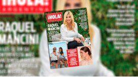 Raquel Mancini llegó a la tapa de Hola! y revolucionó las redes: Nunca me sentí linda