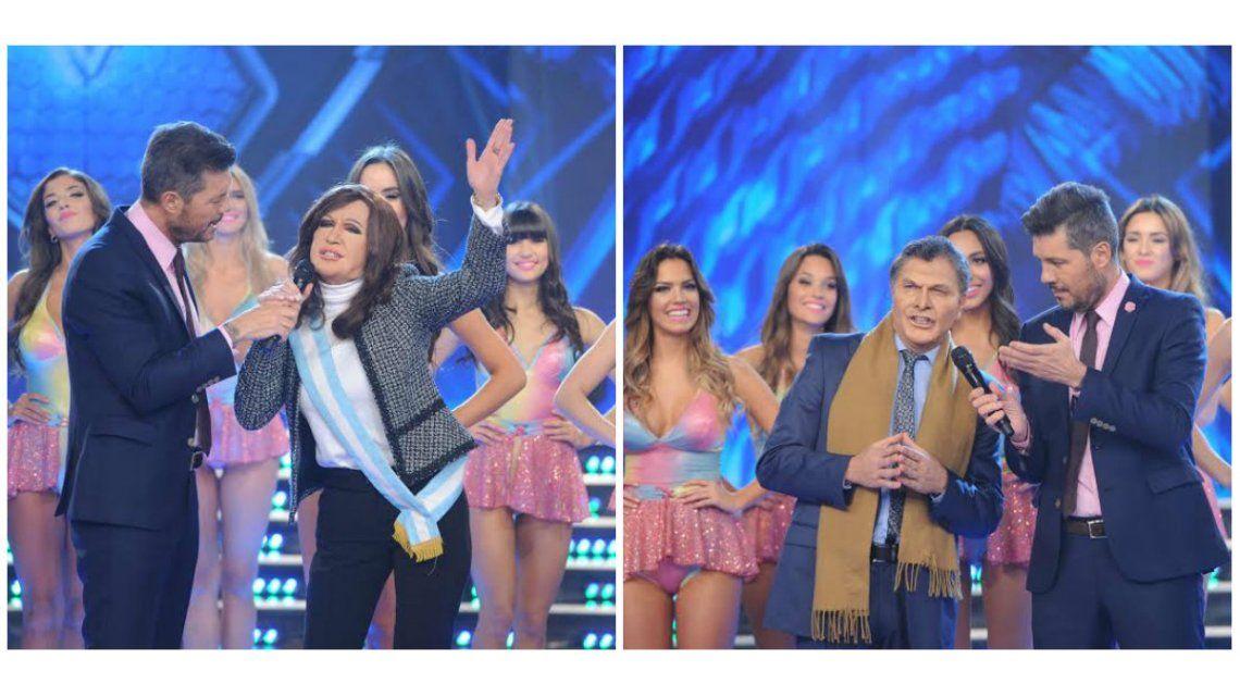Cristina Kirchner y Mauricio Macri, cara a cara en Gran Cuñado