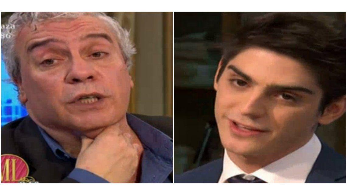 Coco Sily, cara a cara con el joven abogado Joaquín Badoza tras el audio en el que lo trató de negro