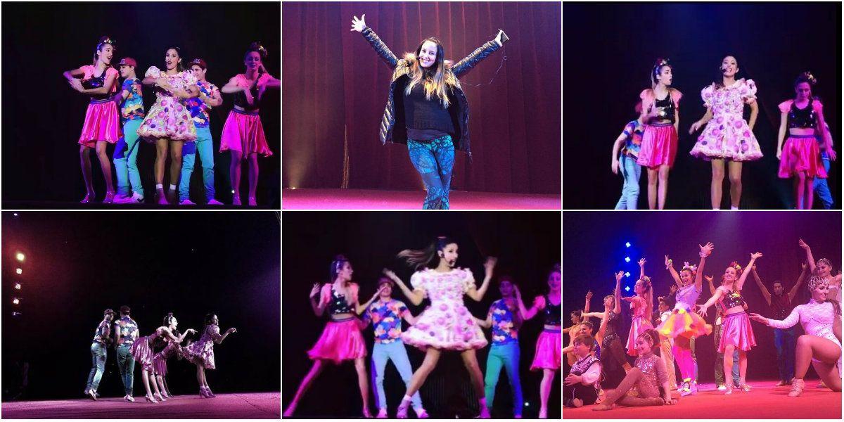 Lourdes Sánchez empezó las vacaciones de invierno a puro baile con su show: Me sentí bárbara