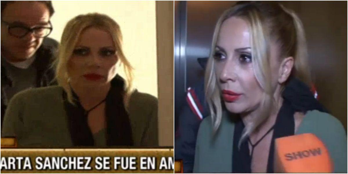 Tras golpearse en la pista, Marta Sánchez se fue del programa en ambulancia