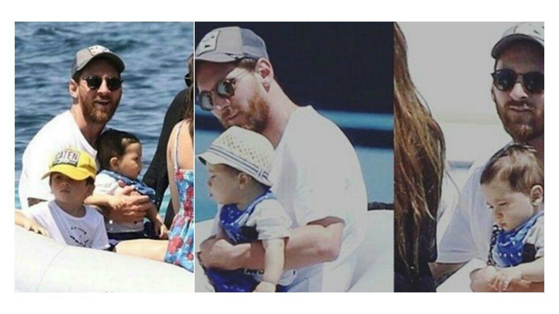 Mirá el nuevo tatuaje de Lionel Messi en homenaje a Mateo, su segundo hijo