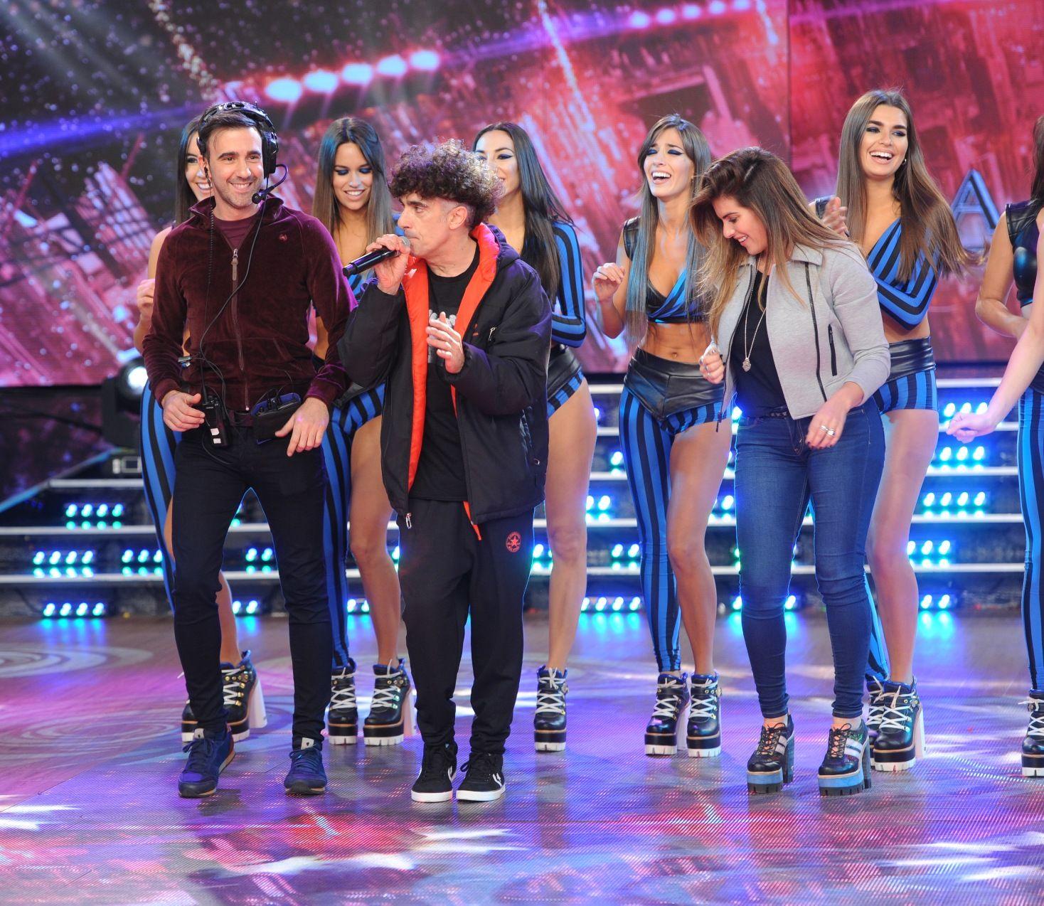 Un logro: Favio Posca hizo bailar a Tinelli ¡y a Hoppe!