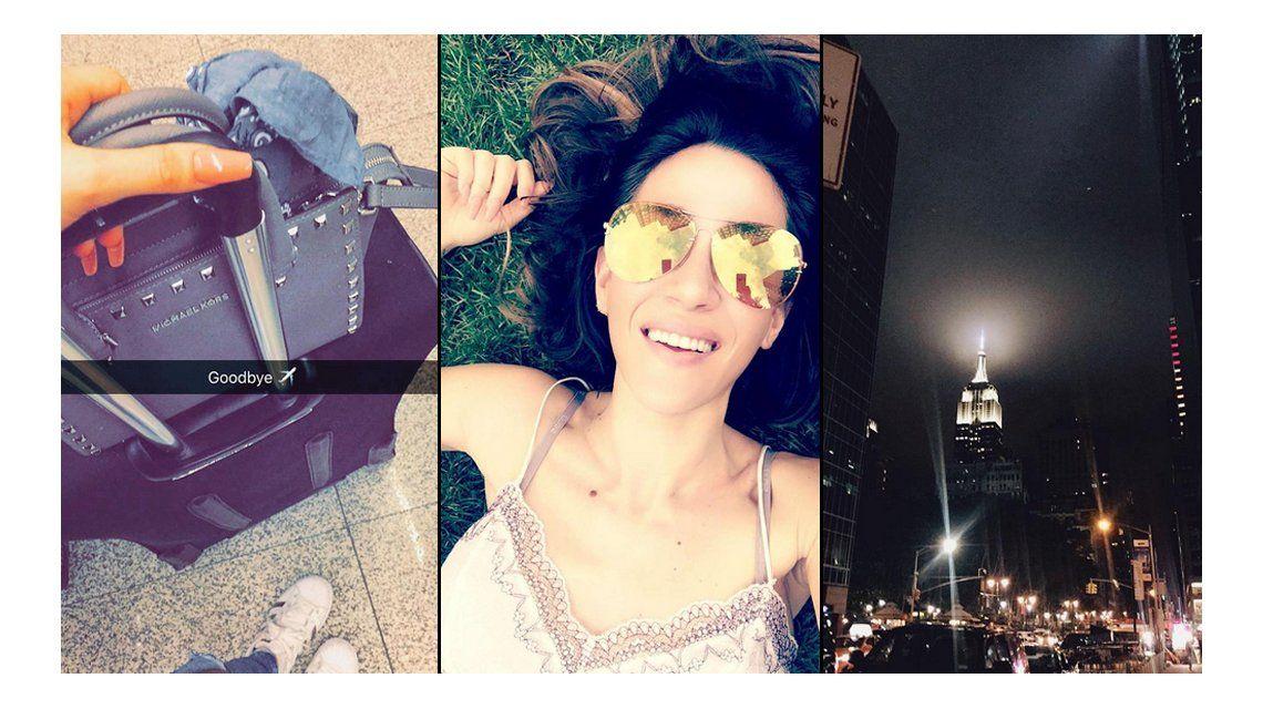 Las vacaciones de soltera de Jimena Barón en Nueva York y su anécdota con los hombres: Flasheo 50 sombras de Grey
