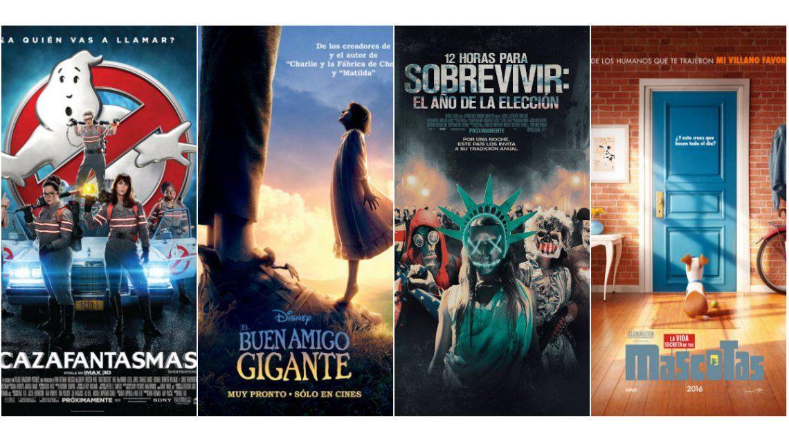 Cine: tres grandes estrenos y la segunda parte del making off de La vida secreta de tus mascotas