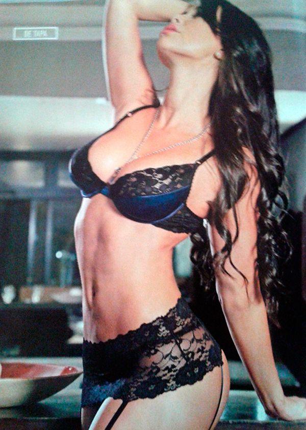 Sabrina Ravelli, en lencería: No me gusta que me encasillen como chica sexy