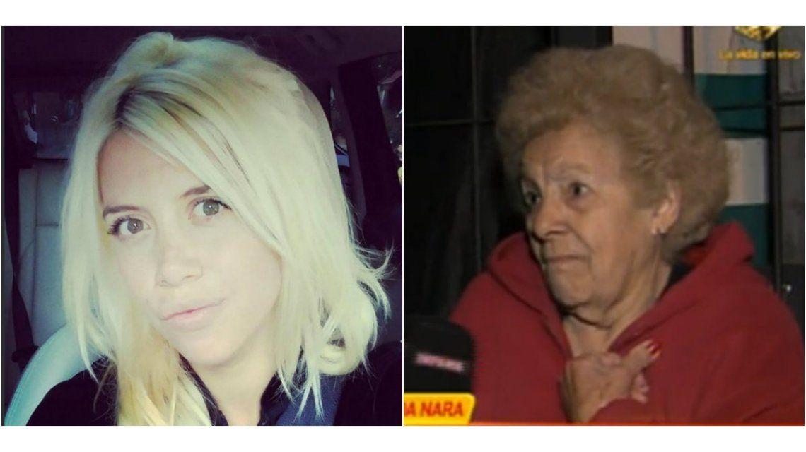 La abuela de Wanda Nara la acusó de hacer el pet... y ella salió al cruce desde Milán