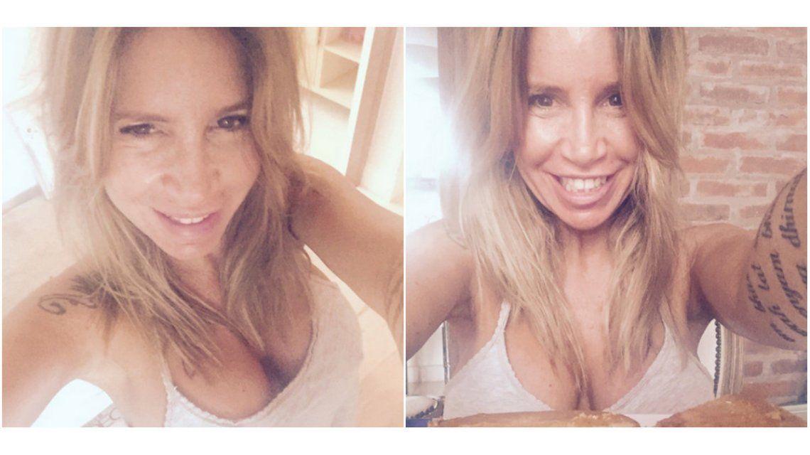 Flor Peña, irónica con una foto hot por el tarifazo: En patas y top, siempre redoblo la apuesta!