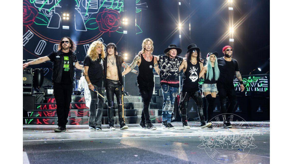 Los Guns N Roses llegan a la Argentina en noviembre