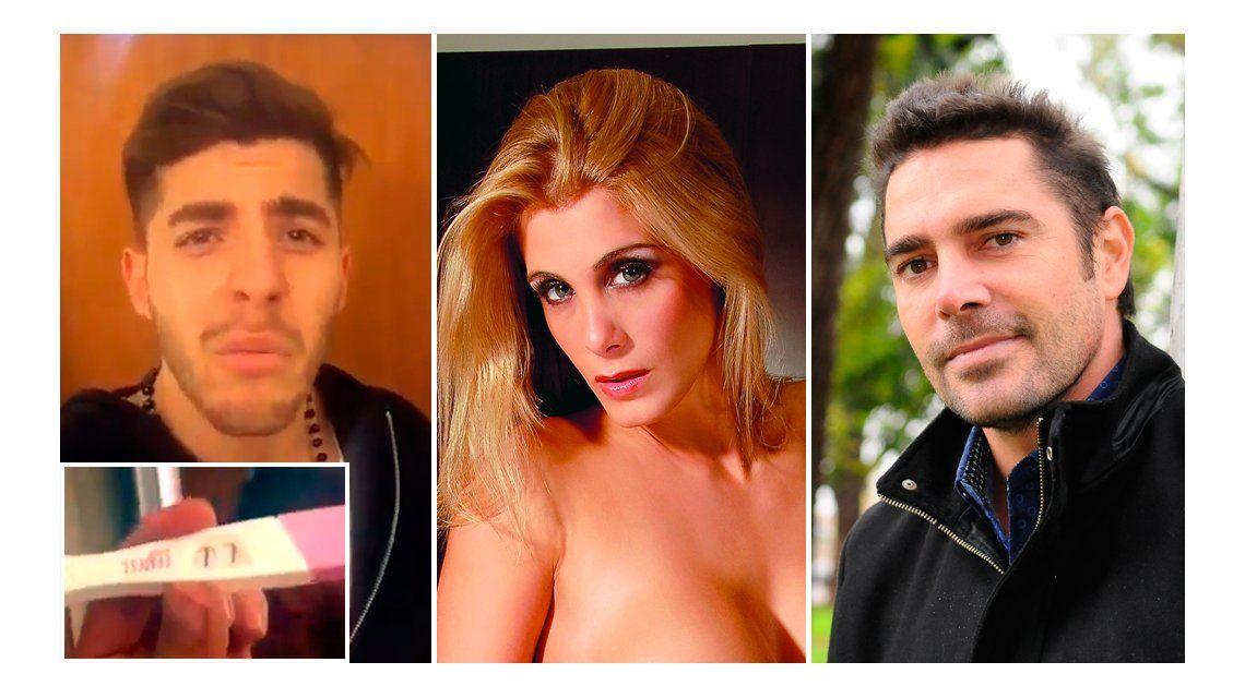 El novio de Florencia Maggi, que estaría esperando un hijo de Matías Alé, amenaza al actor: Sos poco hombre...que no te cruce