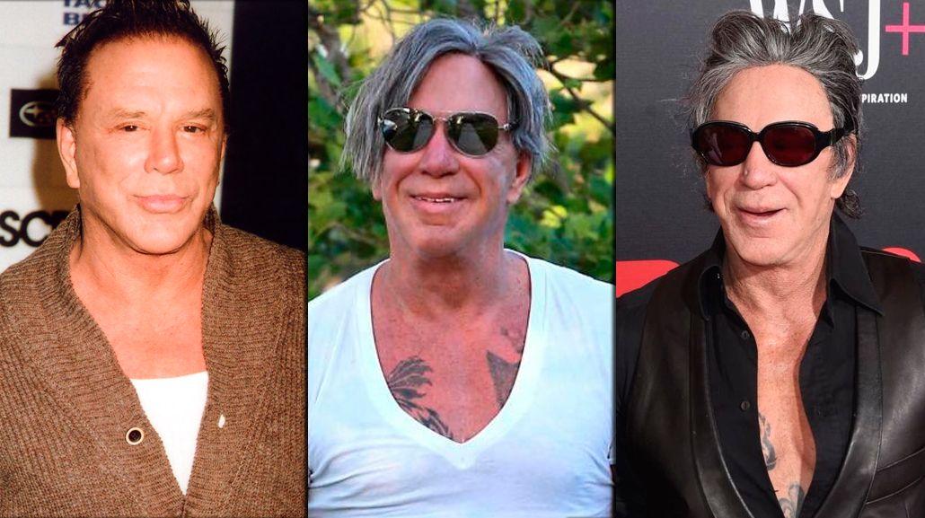La nueva cara de Mickey Rourke, a sus 64 años