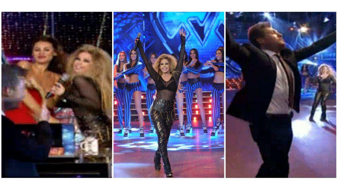 La abogada hot cantó un tema de Thalía e hizo bailar a todos, ¡hasta a Marcelo Tinelli!