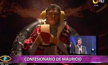 Más sátira en ShowMatch: Macri habló congelado desde el confesionario y dijo que regalá trajes de neopreno para bañarse