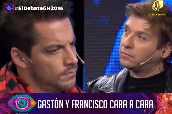 Después de la feroz pelea, el cara a cara de Francisco Delgado y Gastón Trezeguet en El Debate