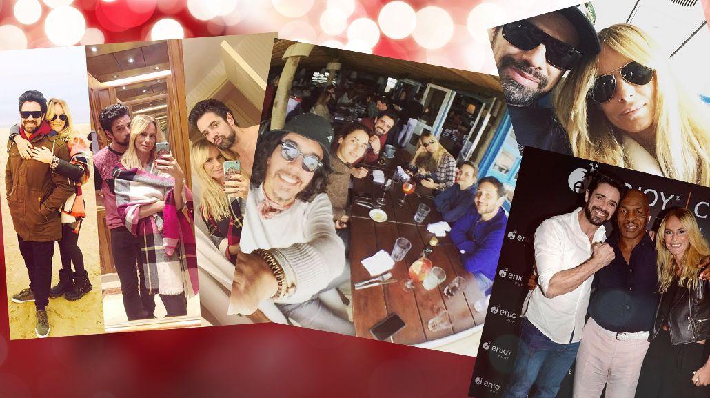 Las minivacaciones de Luciano Castro y Sabrina Rojas: De novios