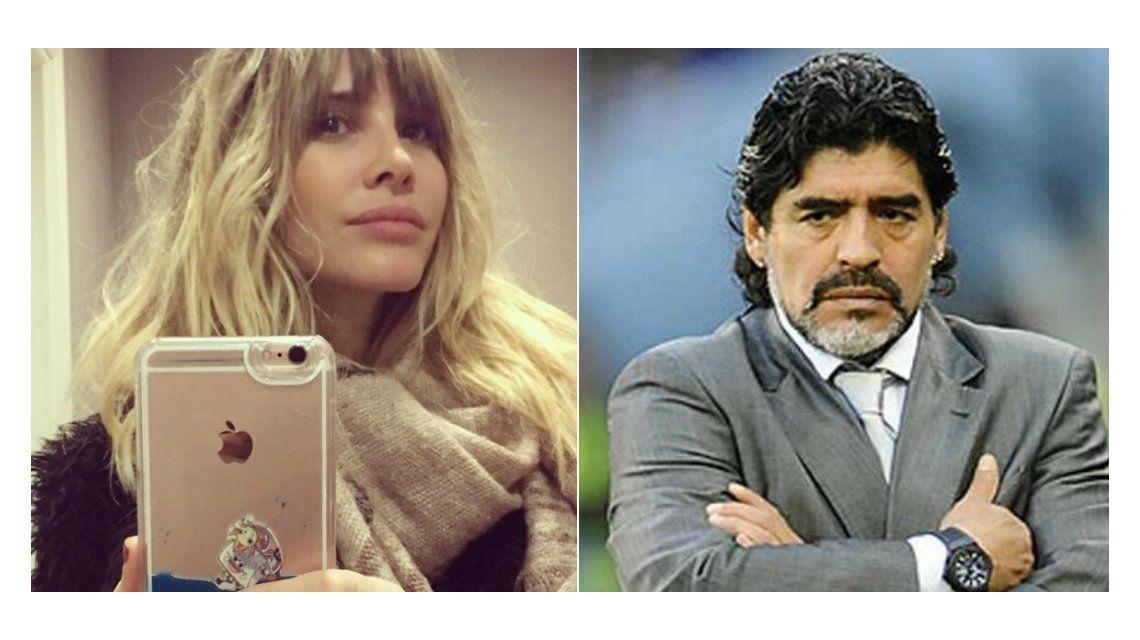 Guillermina Valdes le respondió a Maradona, que había cuestionado su relación con Tinelli