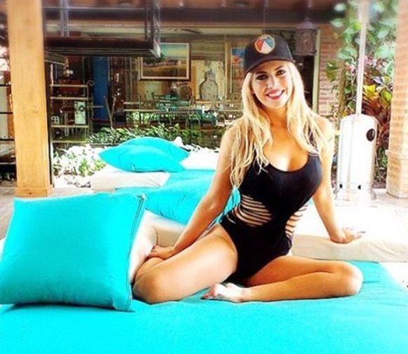 Alejandra Maglietti calentó las redes con una foto sexy en pleno invierno