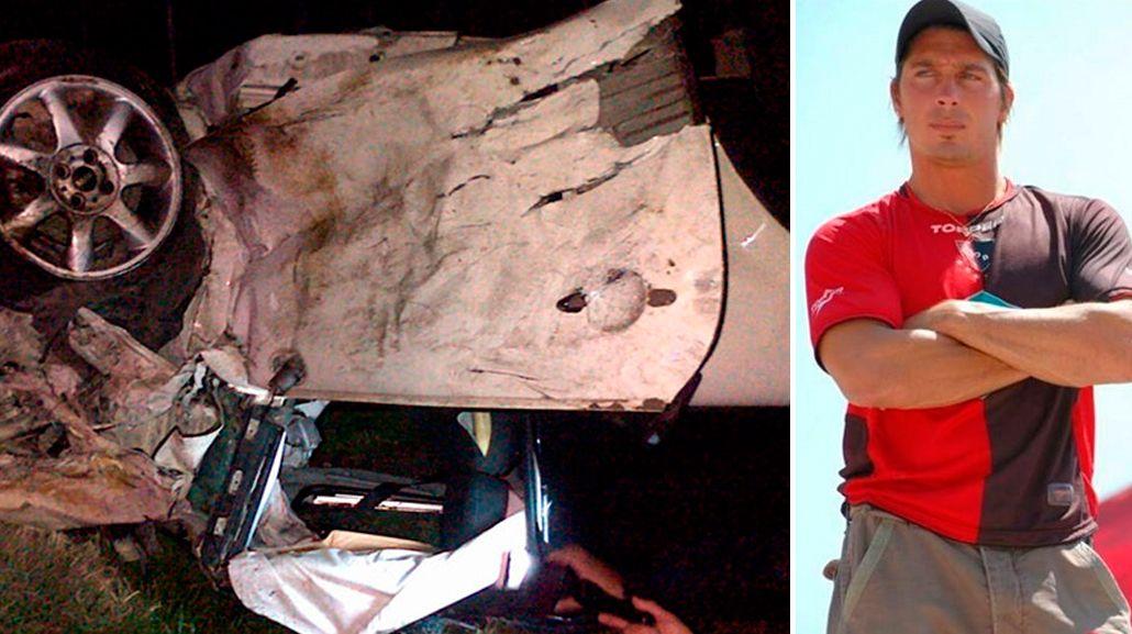 El grave accidente de un ex GH: impactantes imágenes