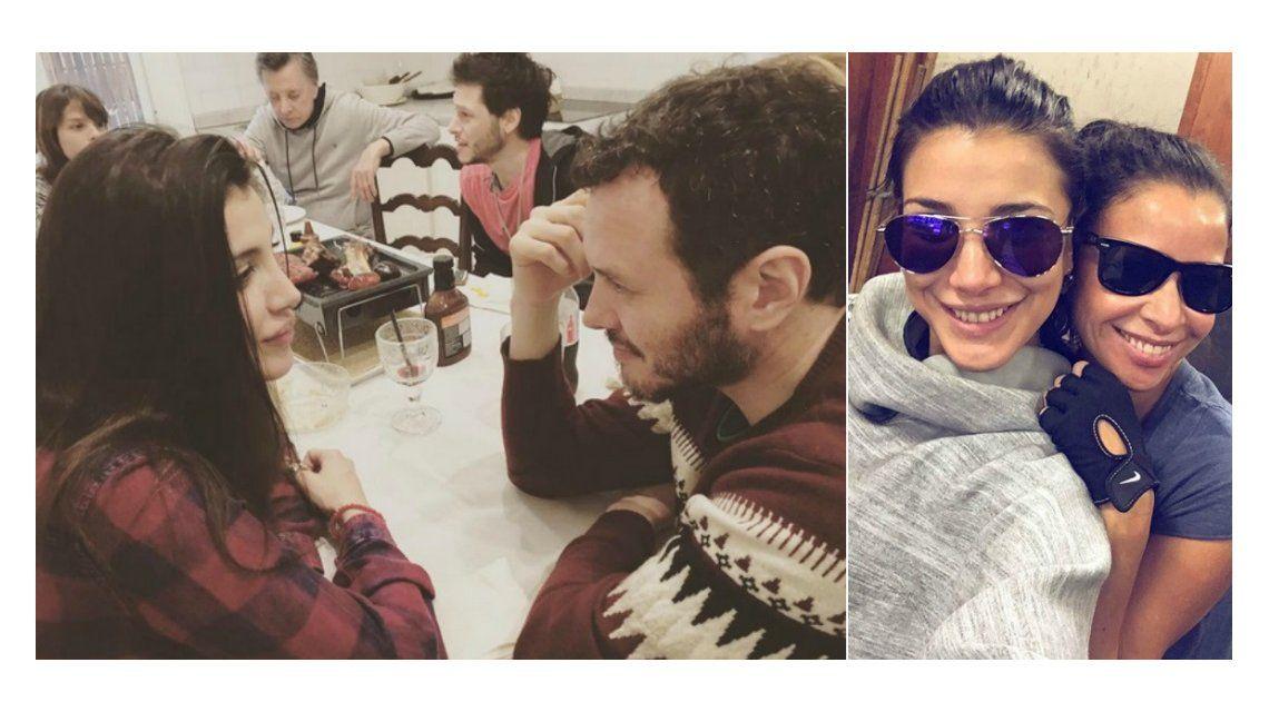 Andrea Rincón habló de los rumores de relación con Martín y Julieta Ortega