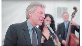 Bon Jovi cantó Livin On A Prayer obligado en un casamiento