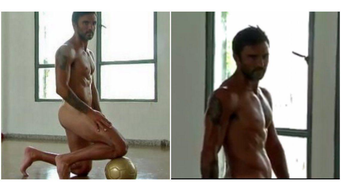 El desnudo de Fabián Cubero en una producción de fotos: ¡mirá el video del backstage!