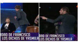 Escandalosa pelea entre Fran Delgado y Trezeguet: dura reacción de Pamela David
