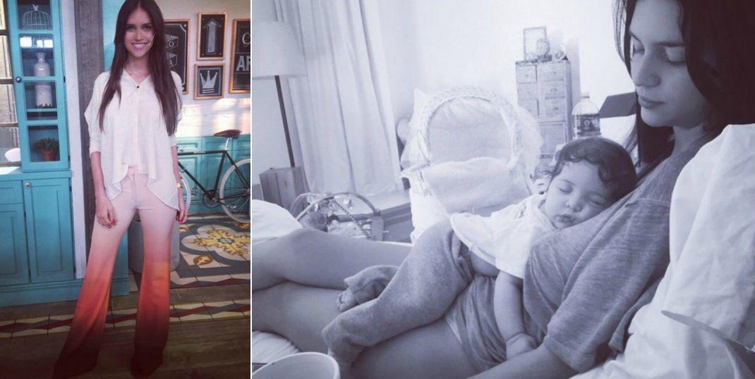 Zaira Nara volvió a trabajar, a dos meses de haber dado a luz a Malaika