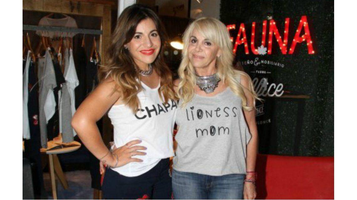 Gracias hija por no tener rencor a la mamá de tu hermanito, le dijo Claudia Villafañe a Gianinna